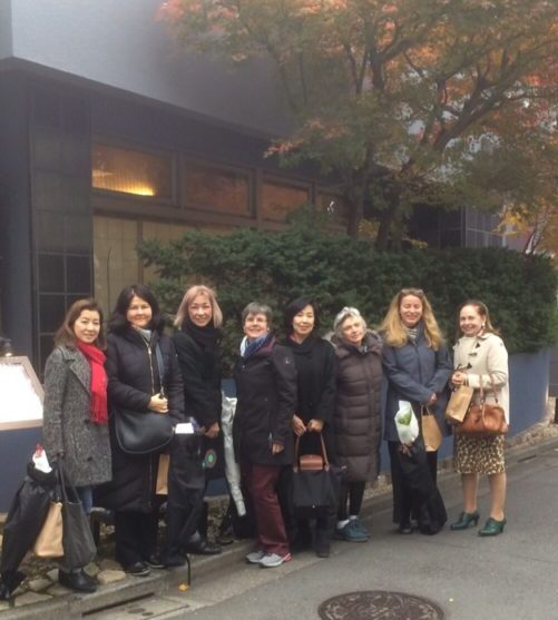 Good bye from Tokyo December 6