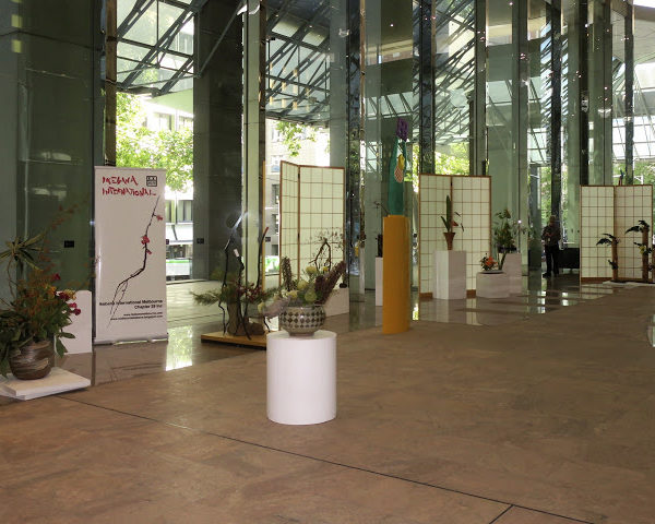 Ikebana International Exhibition Melbourne March 2018